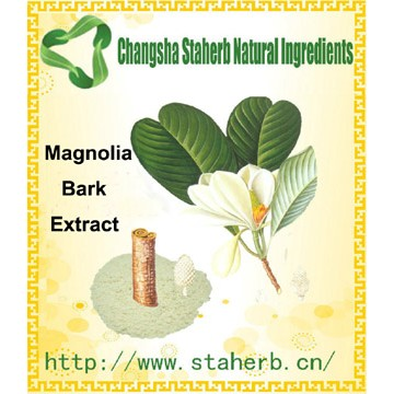 100% Nature Magnolia Extract Total Magnolol 50%,80%,90%,98% HPLC
