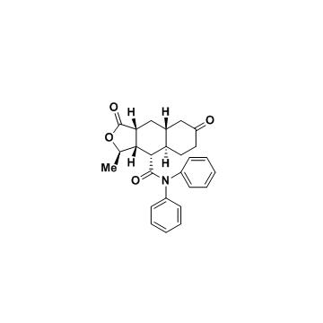 (3R,3aS,4S,4aR,8aR,9aR)-3-methyl-1,7-dioxo-N,N-diphenyl-dodecahydronaphtho[2,3-c]furan-4-carboxamide