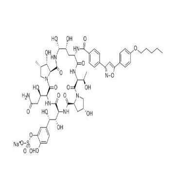 An Echinocandin Antifungal Drug Echicafungin Sodium, CAS 208538-73-2