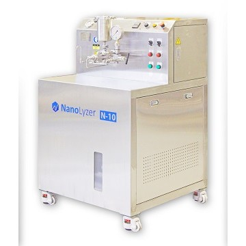 NanoLyzer, high-pressure homogenizer
