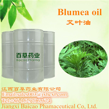 100% Natural Blumea essential Oil Factory wholesales