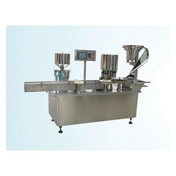 Automatic viscous liquid/paste filling machine