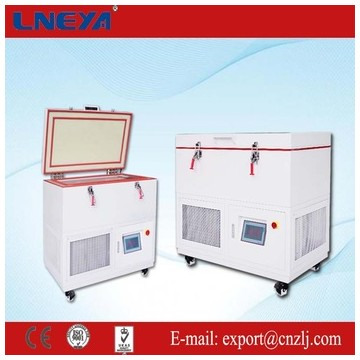 Plate freezer with real-time temperature record temperature range from -40 up to -70 degree