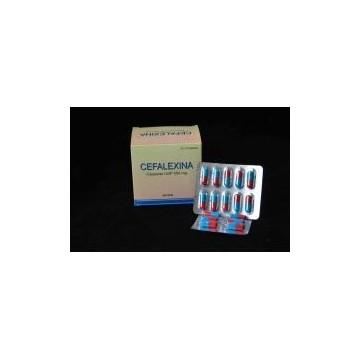 Cephalexin Capsule/Cefalexin USP 500mg