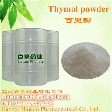 Thymol crystal 98%
