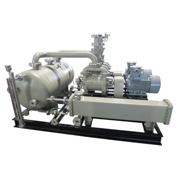 2BW series water ring vacuum pump closed loop system