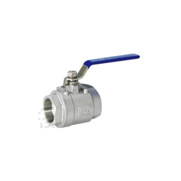 2-pcs industrial female thread ball valve