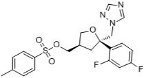 (5R-cis)-Toluene-4-sulfonic acid 5-(2,4-difluorophenyl)-5-(1H-1,2,4-triazol-1-yl)methyltetrahydrofur
