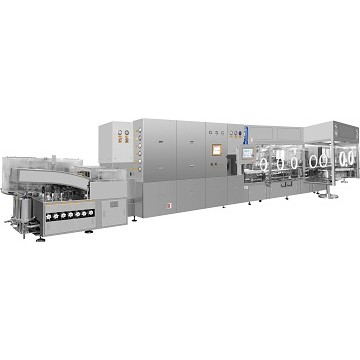 ALXD Ampoule And Vial Washing-Drying-Filling Production Line