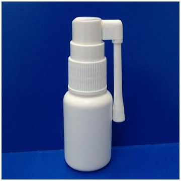 PP sprayer with 20ml HDPE bottle, 360 degrees swivel nozzle.