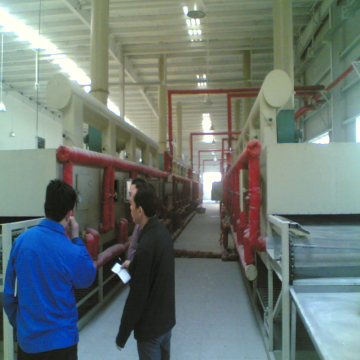 DWT series belt drying equipment for vegetable dehydration chinese herb pieces