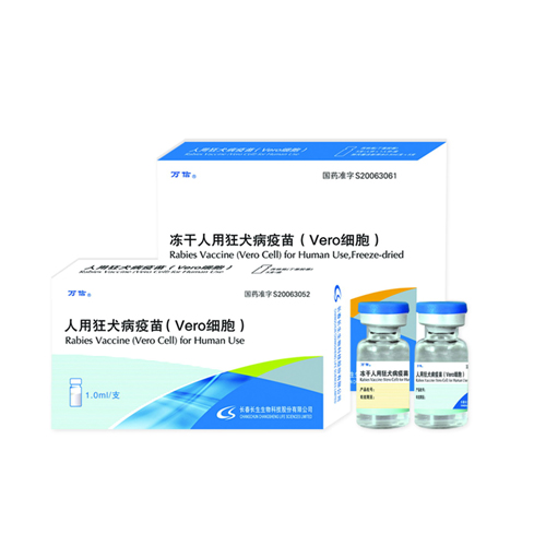 Rabies Vaccine for Human Use, Freeze-dried