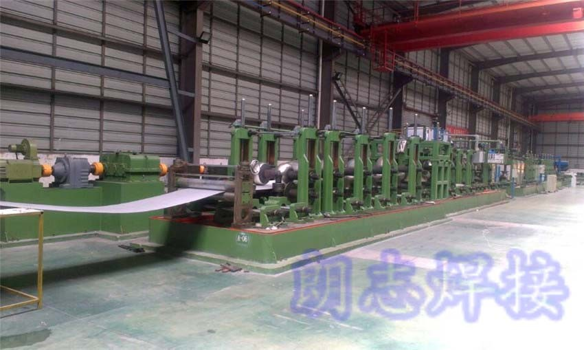 Online stainless steel pipe automatic welding system