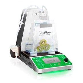 DiluFlow(r) Elite 1 kg - Gravimetric dilutor connected  1 kg