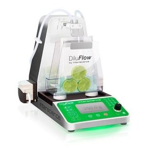 DiluFlow(r) Elite 5 kg - Gravimetric dilutor 5 kg connected