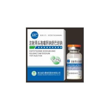 Cefotaxime Sodium and Sulbactam Sodium for Injection