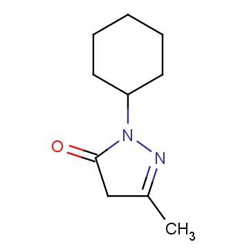 1-Cyclohexyl-3-methyl-1H-pyrazol-5(4H)-one