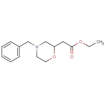 Ethyl 2-(4-benzylmorpholin-2-yl)acetate