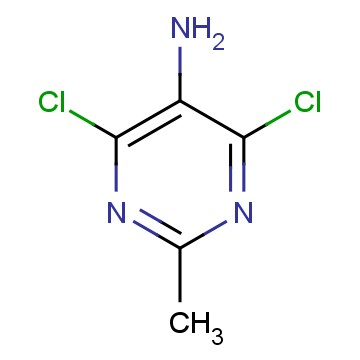 5-Amino-4,6-dichloro-2-methylpyrimidine