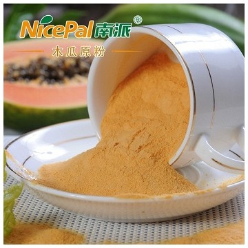 Natural Spray Dried Papaya Powder / Papaya Vegetable Powder