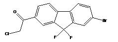 1-(7-Bromo-9,9-difluoro-9H-fluoren-2-yl)-2-chloroethanone