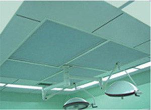 Clean air-supply ceiling