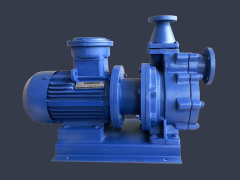 IMC-F (Z) fluorine magnetic self-priming pump