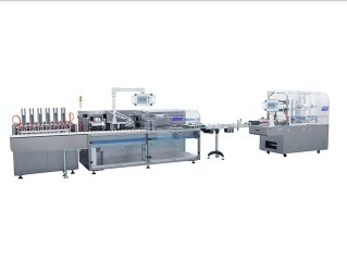 Sachet packaging line