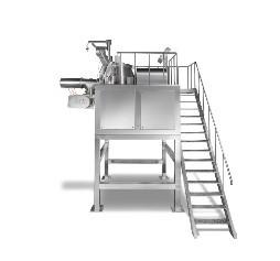 GHL(Z) Series High Shear Mixer/Granulators