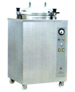 Vertical Round Pressure Steam Sterilizer