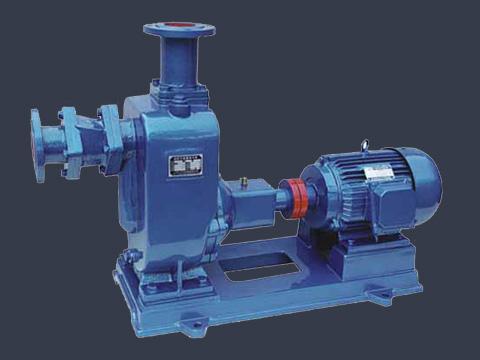 ZW self-priming non-clogging sewage pump