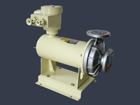 Chemical canned motor pump