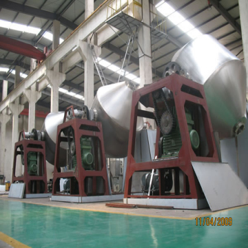 Calcium Carbonate Double Tapered Vacuum Drying Machine