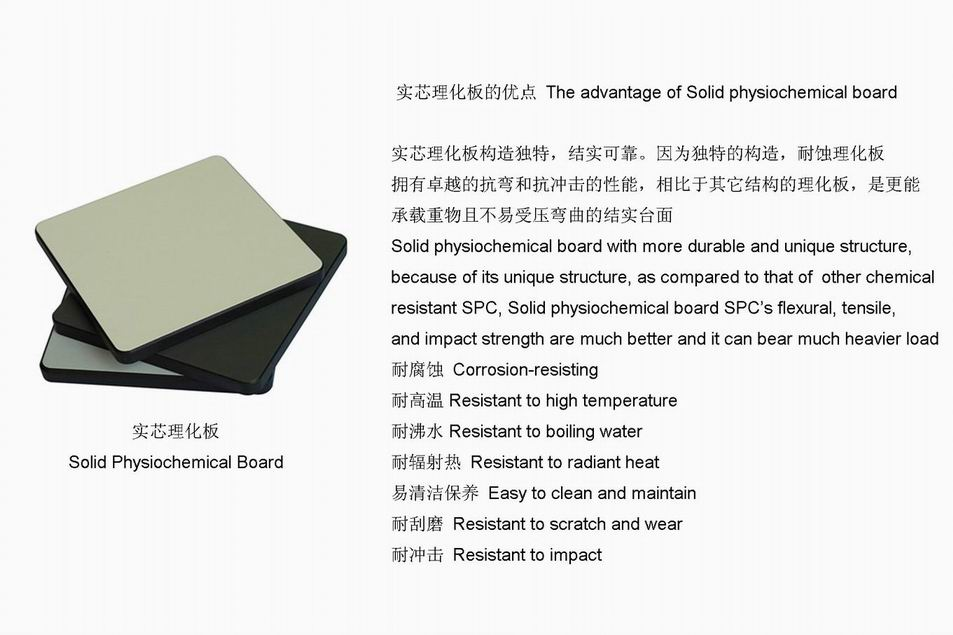 Solid Physiochemical Board