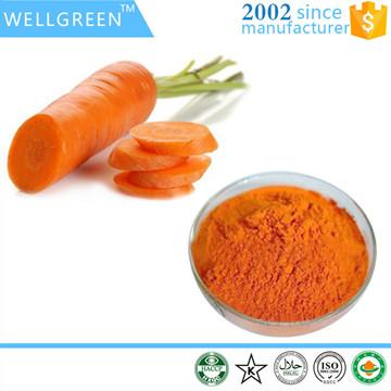 Beta-carotene beadlets
