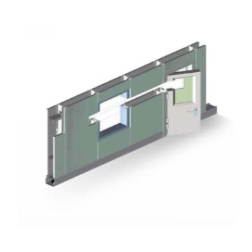 MAX-CR-A 50 series sandwich metal partition series
