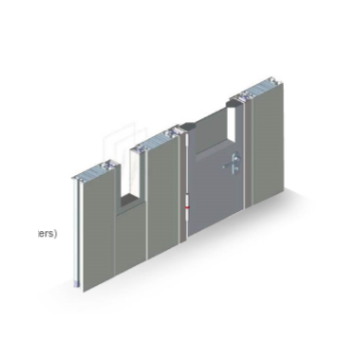 MAX-CR-B 100 series metal gypsum board partition series