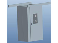 Automatic door shower room