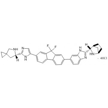 6-(7-(2-((S)-5-azaspiro[2.4]heptan-6-yl)-1H-imidazol-5-yl)-9,9-difluoro-9H-fluoren-2-yl)-2-((1R,3S,4