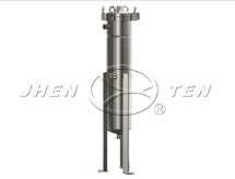 stirrer side entry bag filter housing