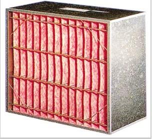 PF type sub-high effciency air filer
