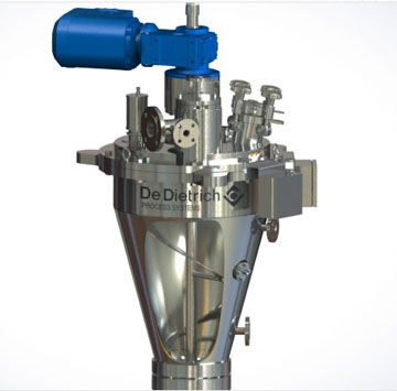 Conical dryer