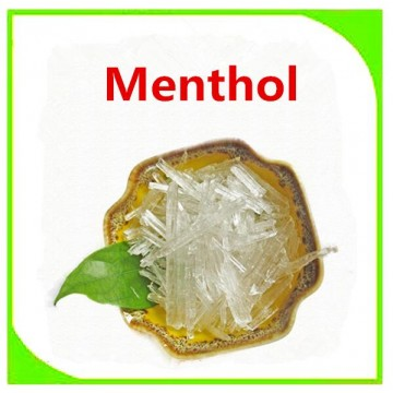 Bulk menthol for gum food additive natural chinese menthol synthetic menthol