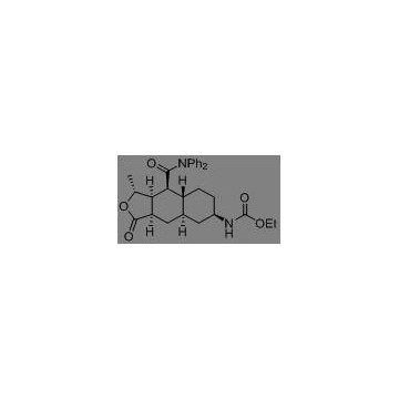 (3R,3aS,4S,4aS,7R,9aR)-3-Methyl-7-nitro-1-oxo-N,N-diphenyl-1,3,3a,4,4a,5,6,7,8,9a-decahydronaphtho[2