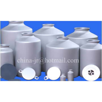 Powder packaging aluminium bottles for API