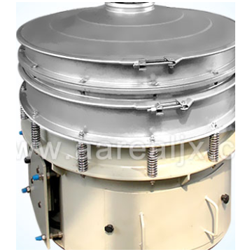 Powerful round vibration screener