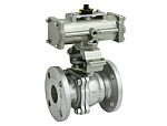 Pneumatically Operated ON-OFF Valve ( Double Acting) FPN1100 Model