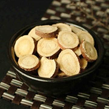 Licorice root, cut