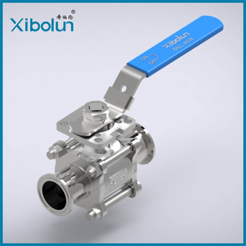 3-Piece Ball Valve Clamp End