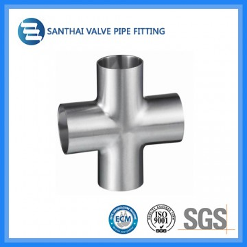 3A Standard Welded Type Stainless Steel Cross